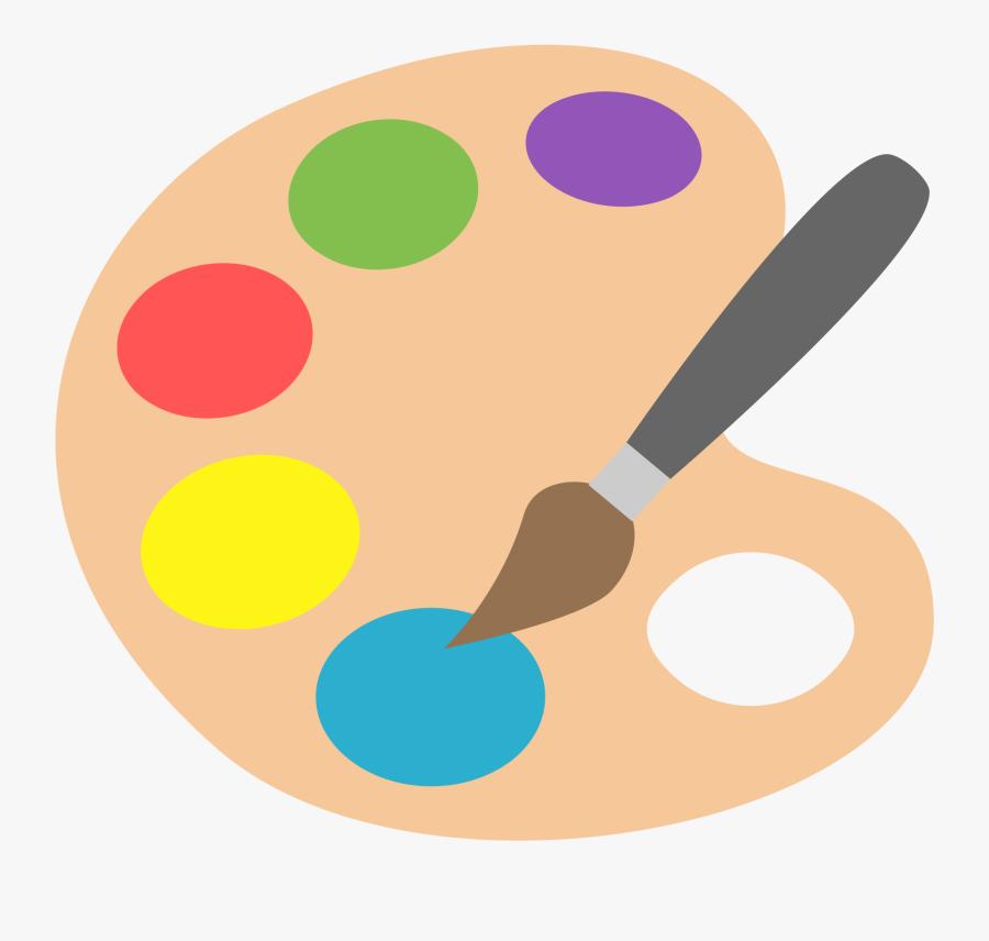 Painting Clipart Paint Palette.