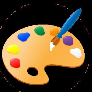 Paint Palette Clipart.