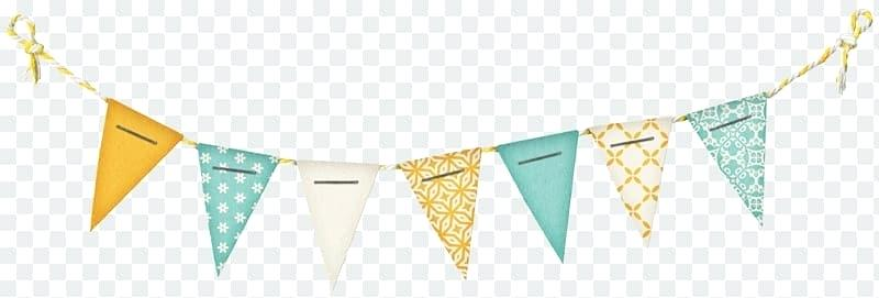 Paper Pennant Banners Banner Flag Bunting Clip Art Birthday.