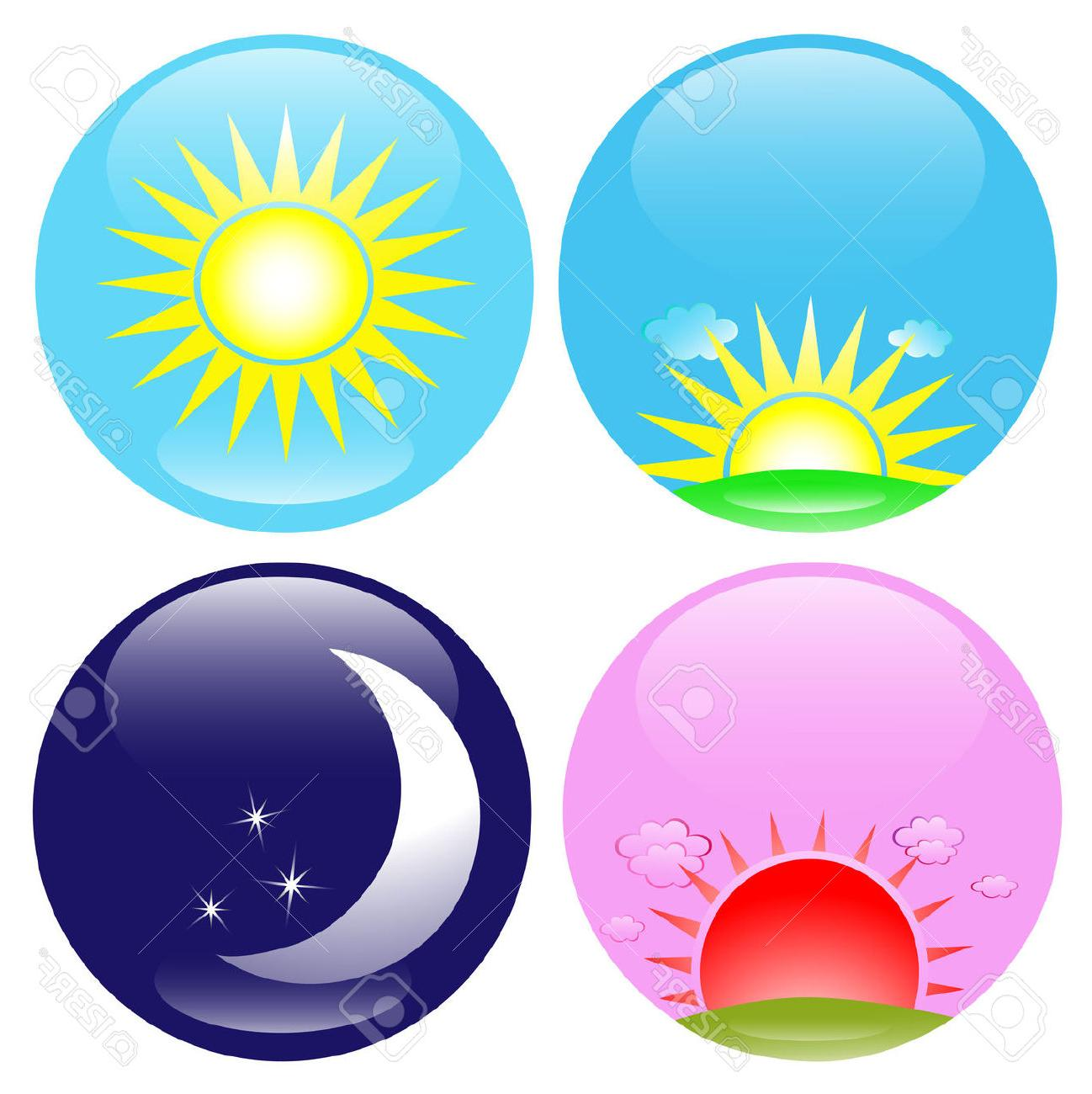 Best HD Clip Art Day And Night Vector Pictures » Free Vector.