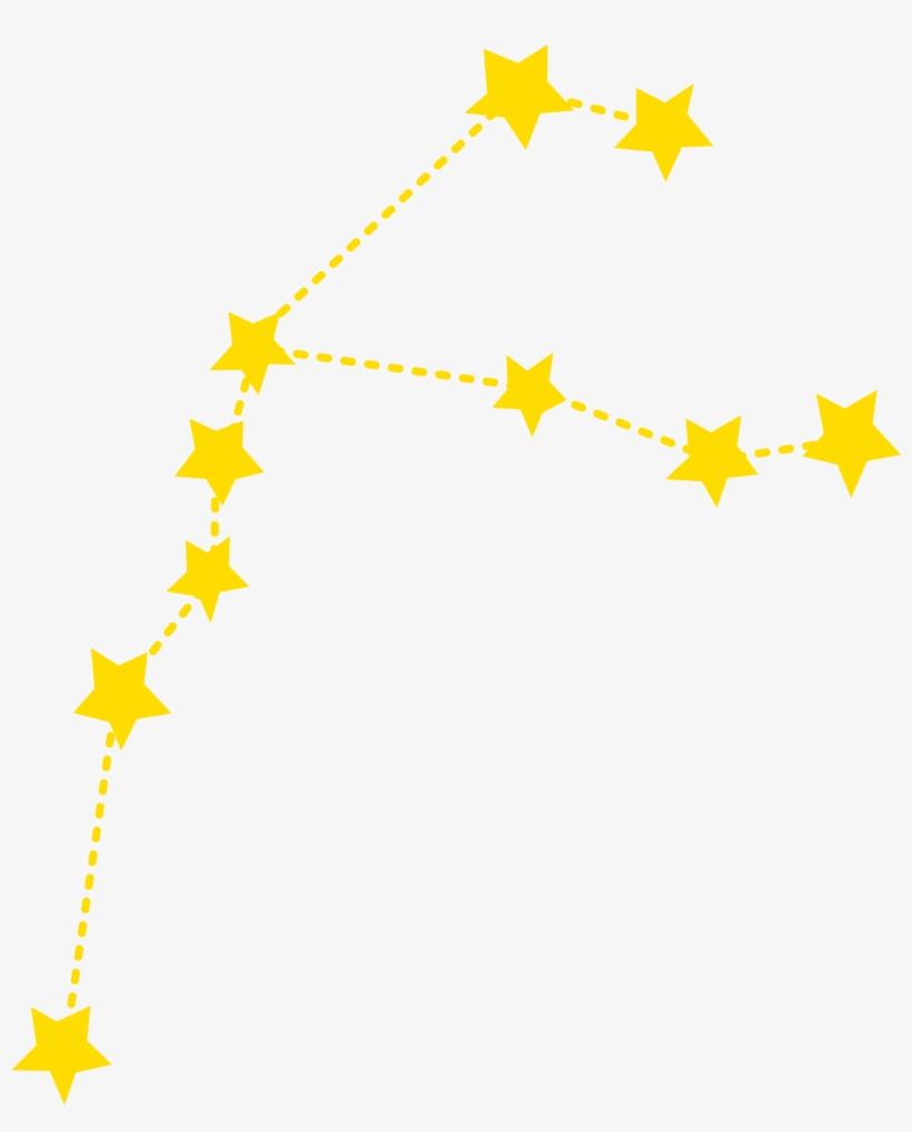 Constellation Aquarius Star Capricornus Drawing.
