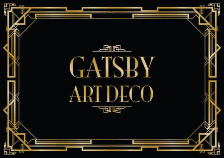47,257 Art Deco Border Cliparts, Stock Vector And Royalty Free Art.