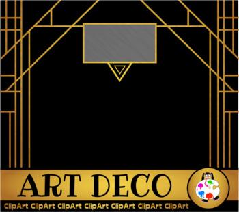 Free Art Deco Clip Art Designs.