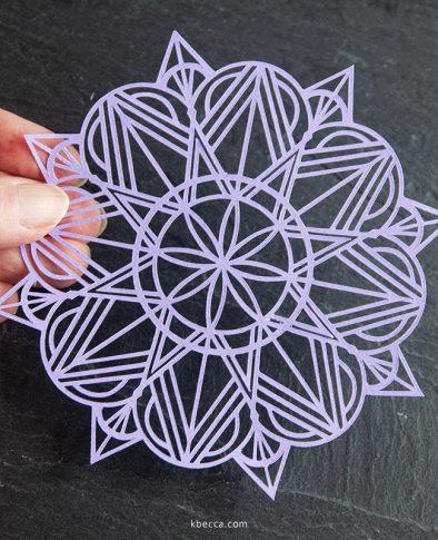 Art Deco Mandala SVG Cut Files #svgfile #svgfiles #cutfile.