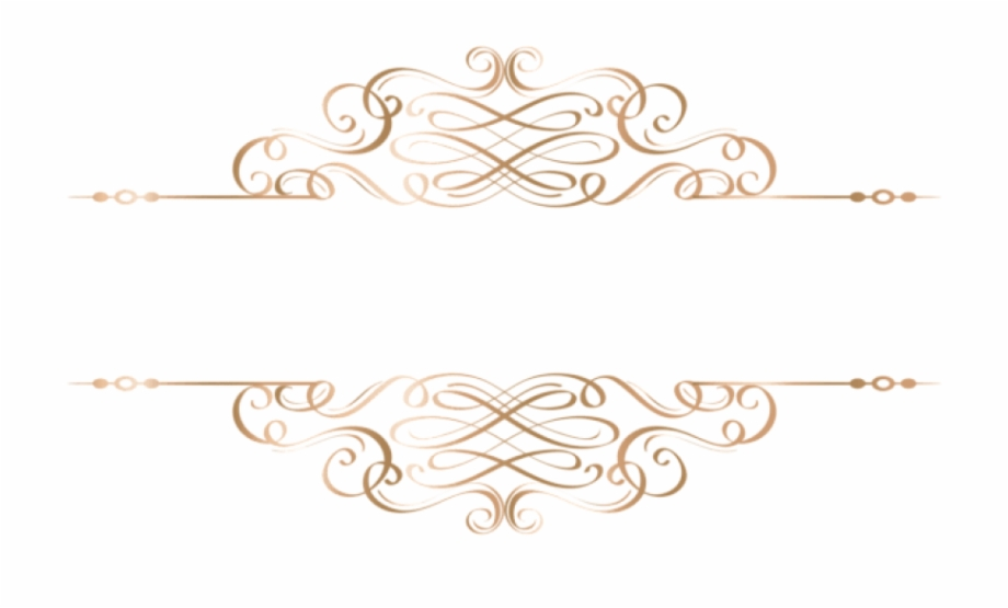 Free Png Download Gold Deco Element Png Clipart.
