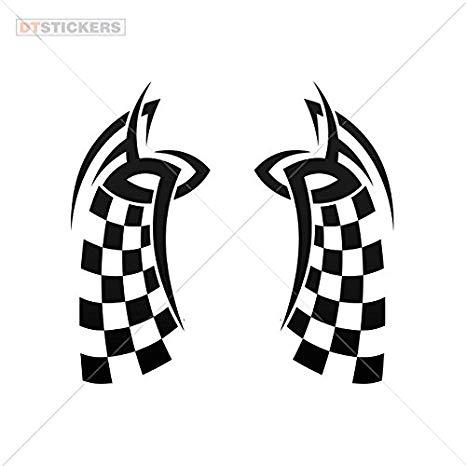 Amazon.com: Vinyl Sticker Decals Race Design Motorcycle.