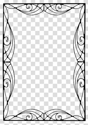 Art Nouveau transparent background PNG cliparts free.