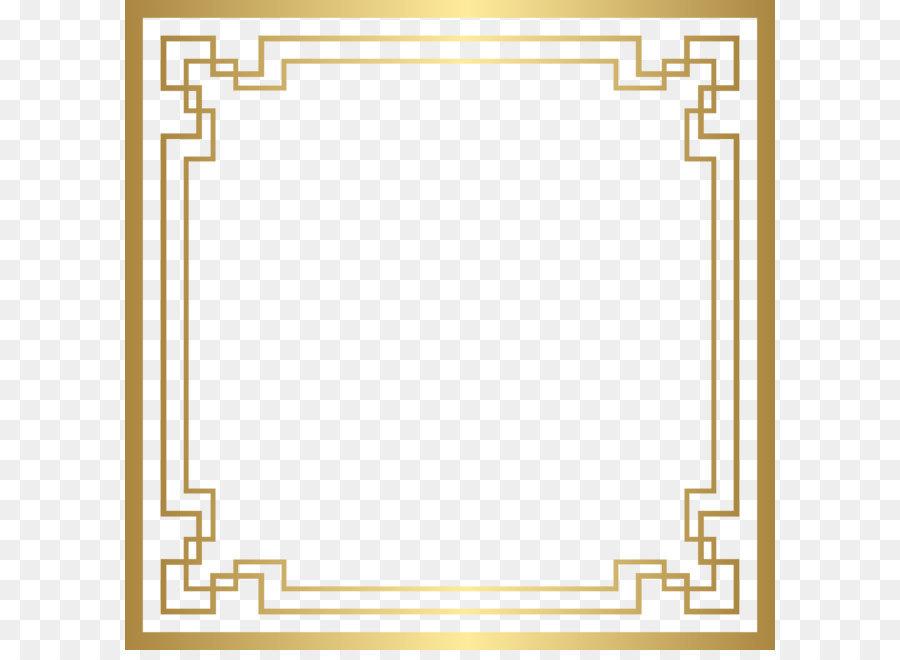 Art Nouveau Frame png download.
