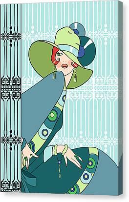Art Deco Fashion Canvas Prints (Page #26 of 29).