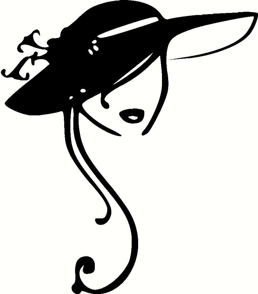 Vintage Ladies Hats Clip Art Clipart.