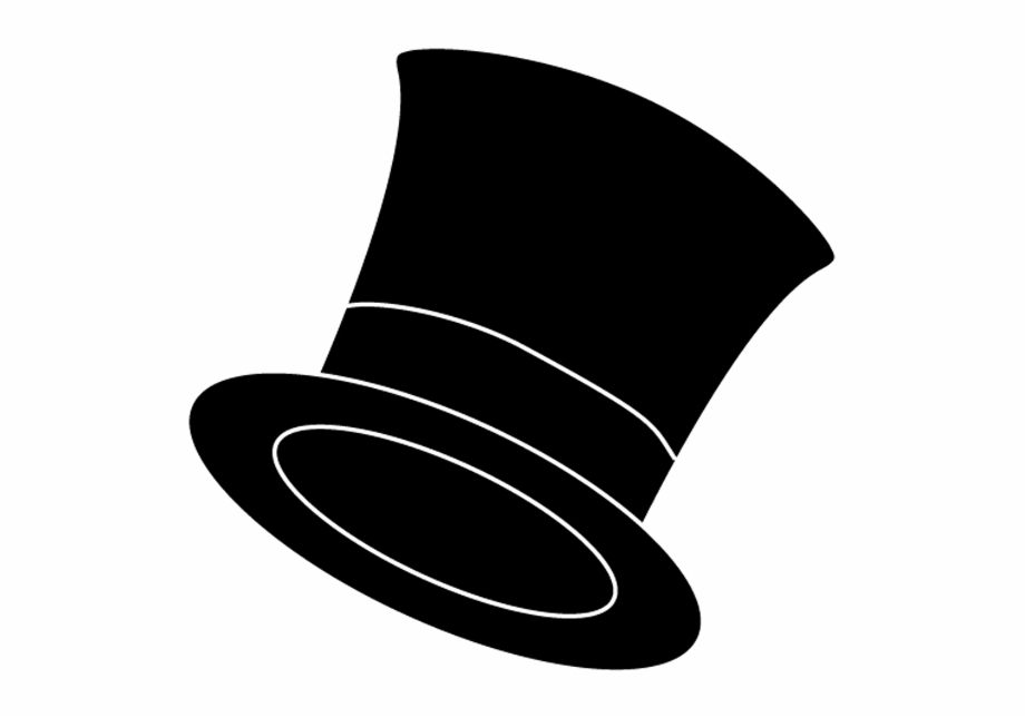 Man In Top Hat Clipart.