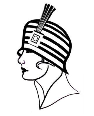 Ladies Hats Clipart.
