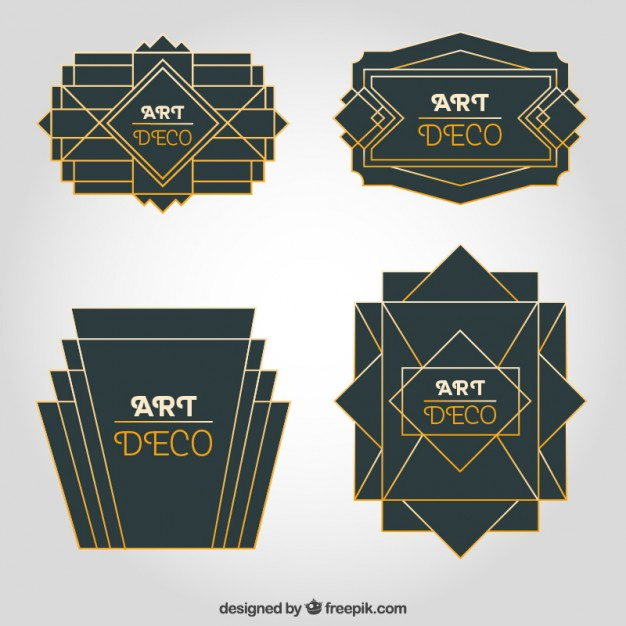 Art Art Deco Vectors, Photos and PSD files.