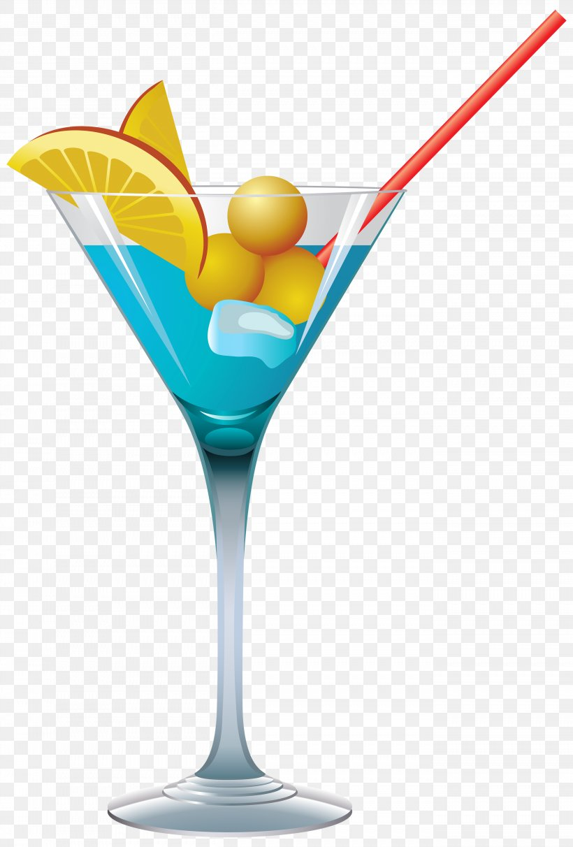 Cocktail Martini Blue Lagoon Clip Art, PNG, 2706x4000px.