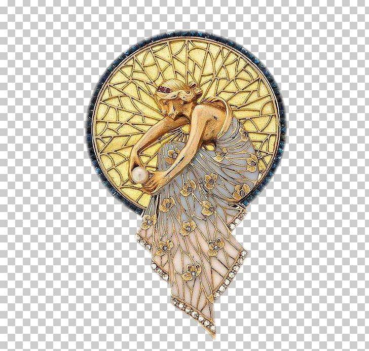 Art Nouveau Art Deco Jewellery Design PNG, Clipart, Angel.