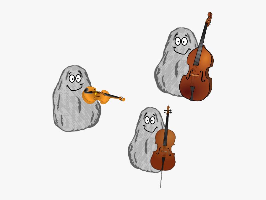 Orchestra Rocks Clip Art.