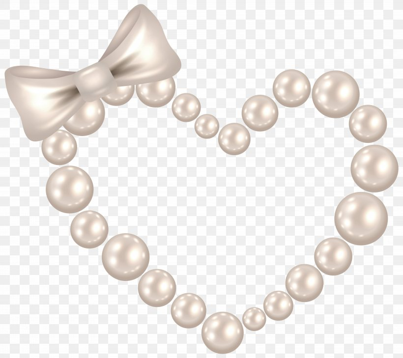 Pearl Heart Clip Art, PNG, 8000x7113px, Pearl, Body Jewelry.
