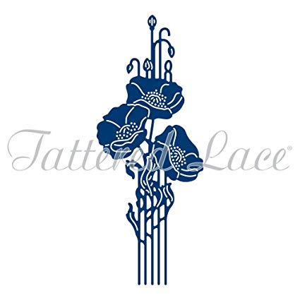 Tattered Lace Essentials Deco Poppy Die.