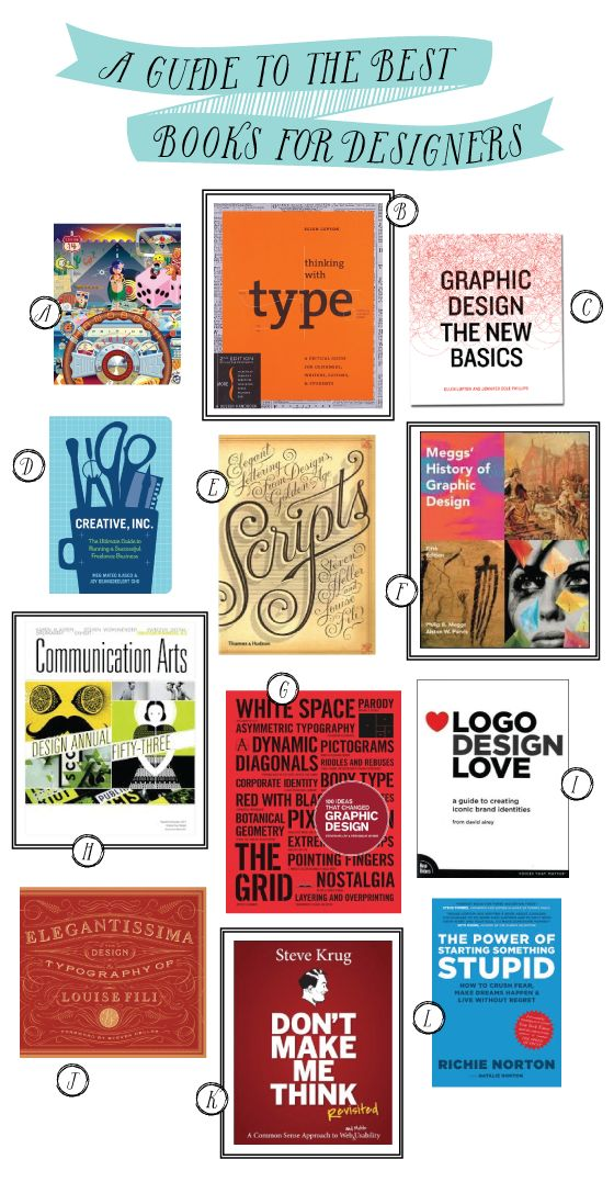 17 Best ideas about Graphic Design Books on Pinterest.