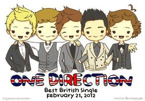 one direction clip art.