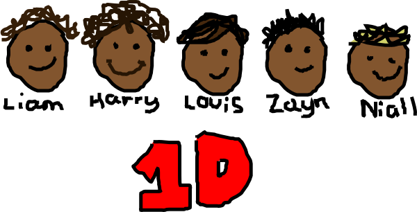 One Direction Logo Clipart.