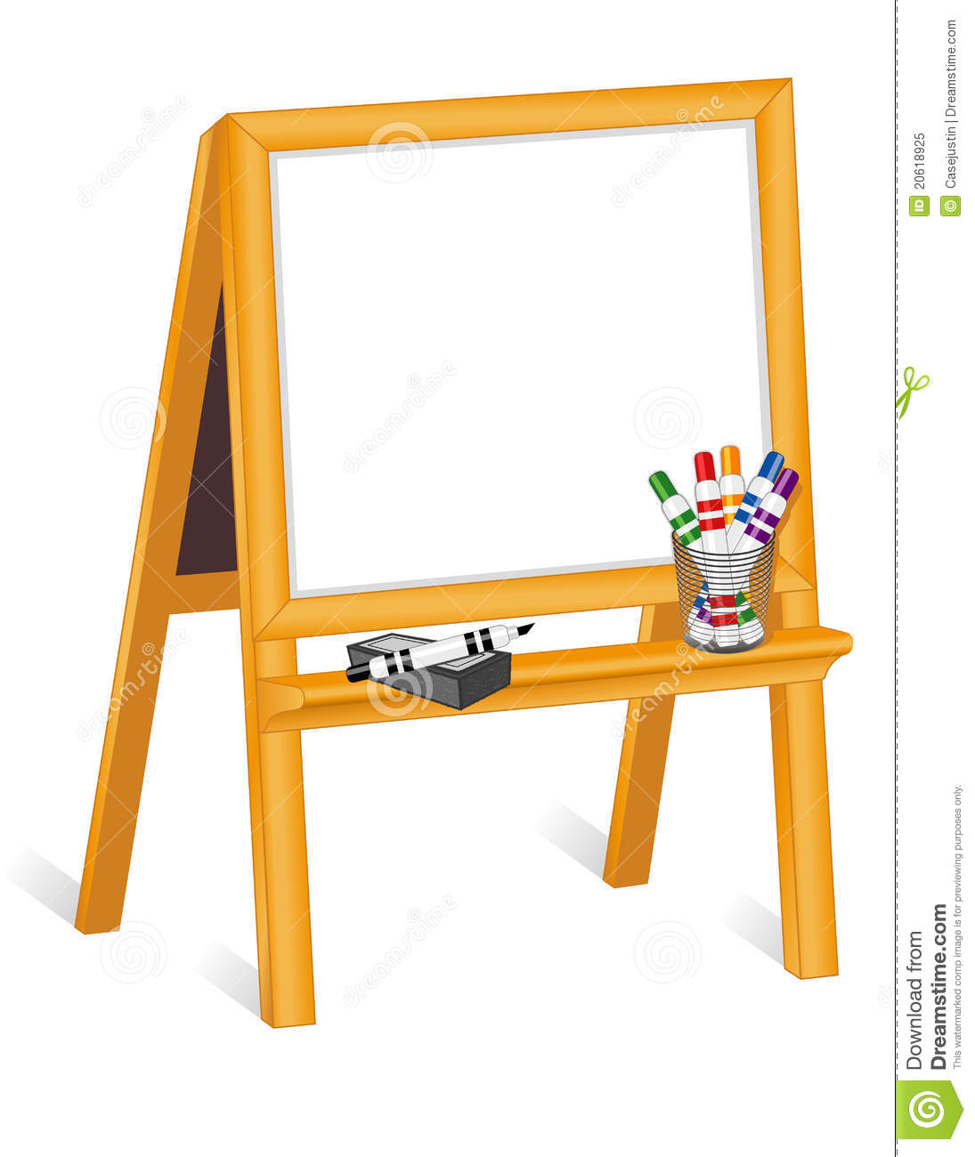 722 Easel free clipart.