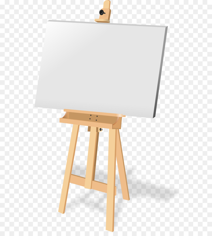 Easel Background png download.