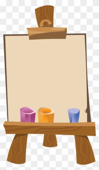 Free PNG Art Easel Clip Art Download.