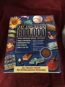 Details about Art Explosion 800,000 Clip Art World\'s Finest Clip Art  Factory Seal CDs.