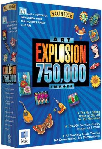 Nova Art Explosion 750,000 Images (Mac): Amazon.co.uk: Software.