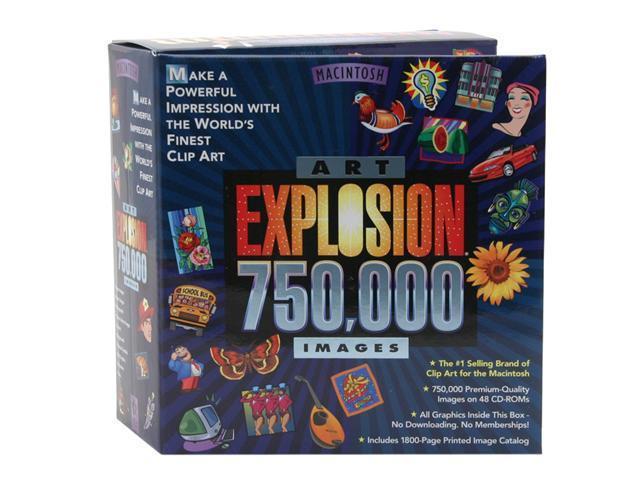 Nova Development Art Explosion 750000 for Mac.