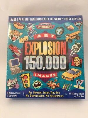 NOVA DEVELOPMENT ART Explosion Clip Art IMAGES CD.