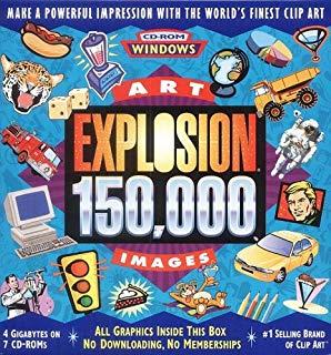 Art Explosion 250,000 Mac: Amazon.co.uk: Software.