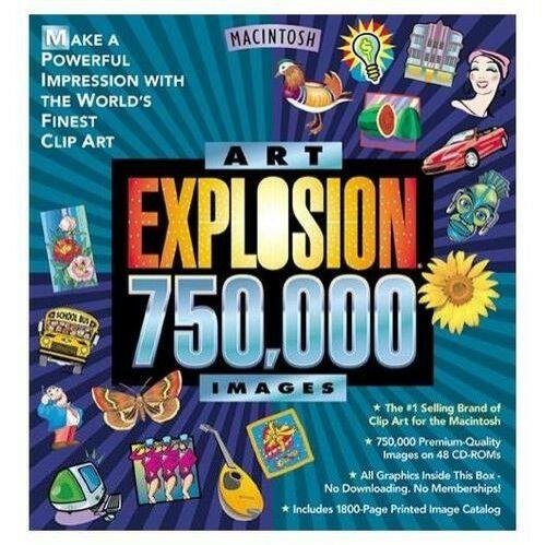 Novatel Art Explosion 750,000 for Mac.