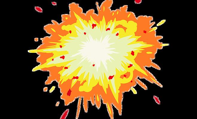 Desktop Wallpaper Explosion Clip art.