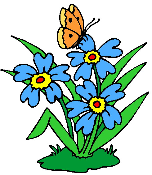 Free clip art on flowers.