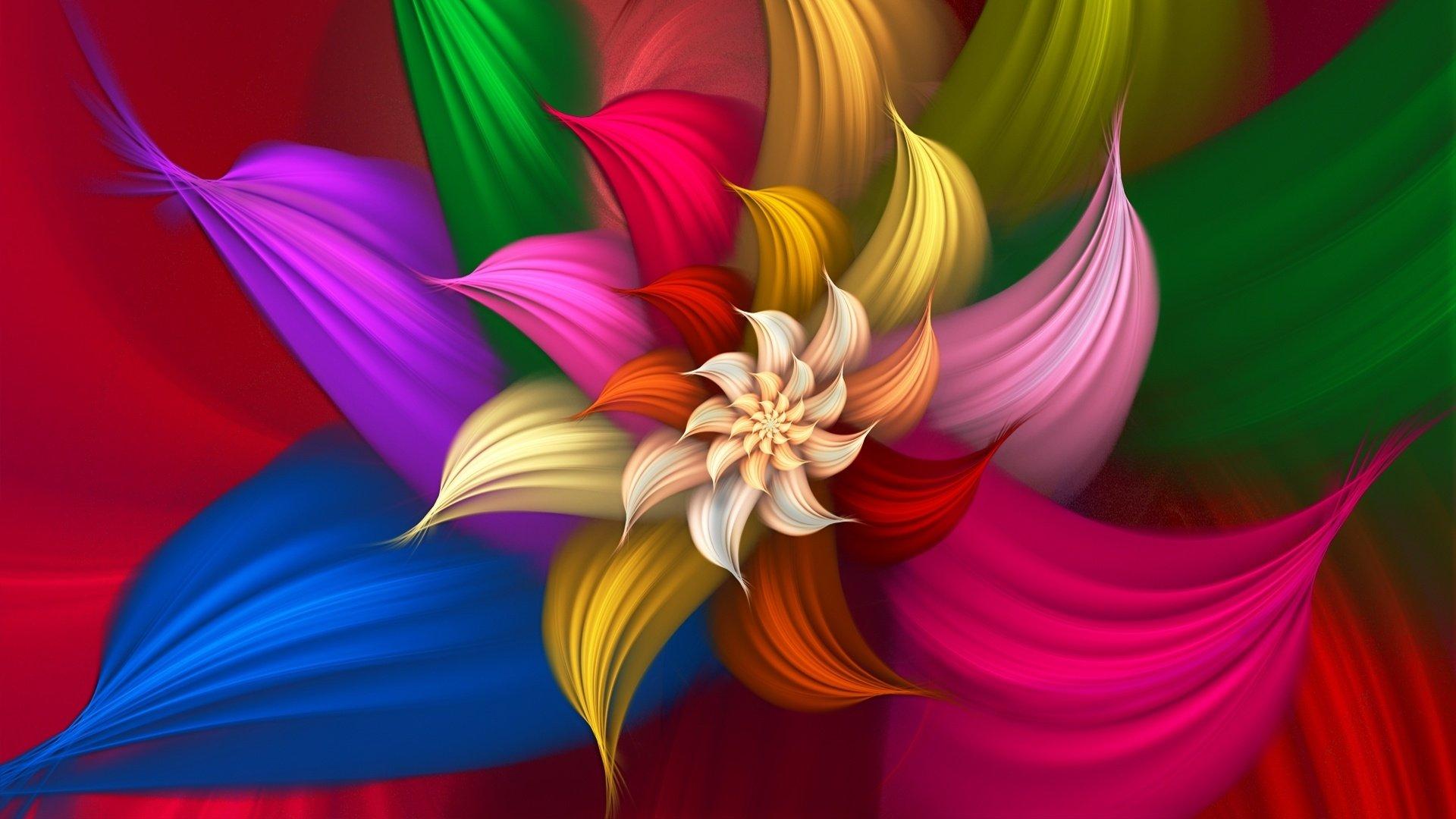 Art Flower Wallpaper.