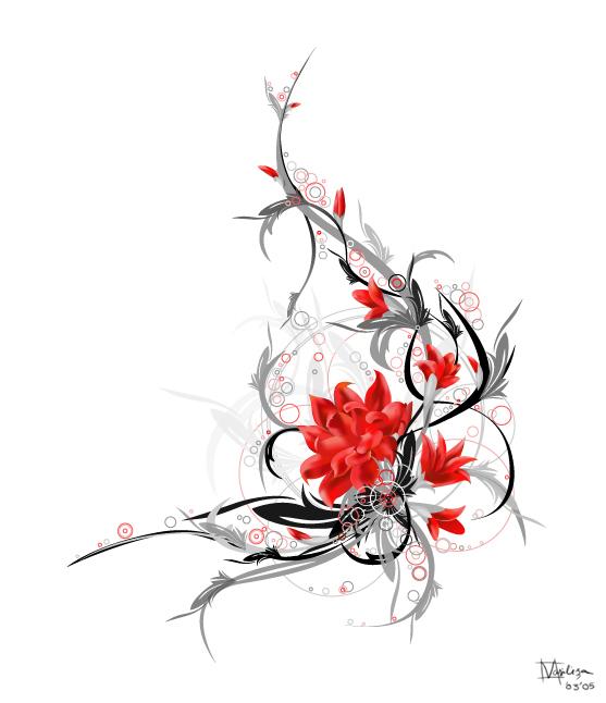 Flower Art Pics.