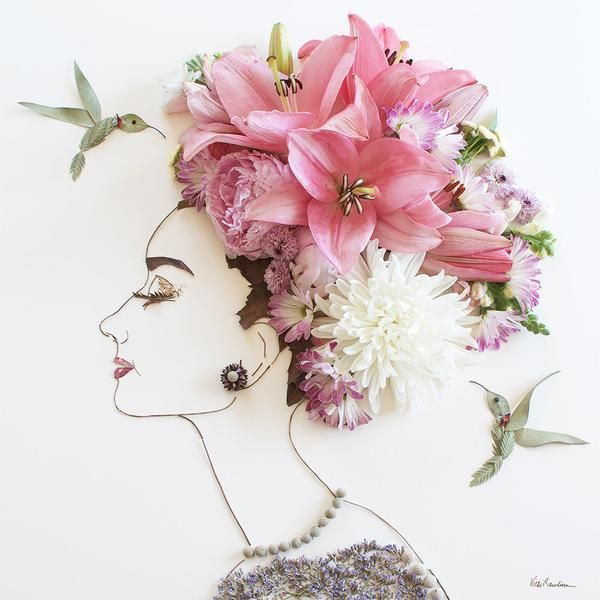 17 best ideas about Flower Art on Pinterest.