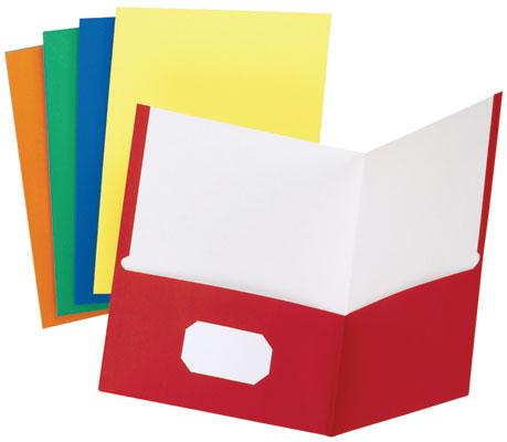 Clipart School Folder.