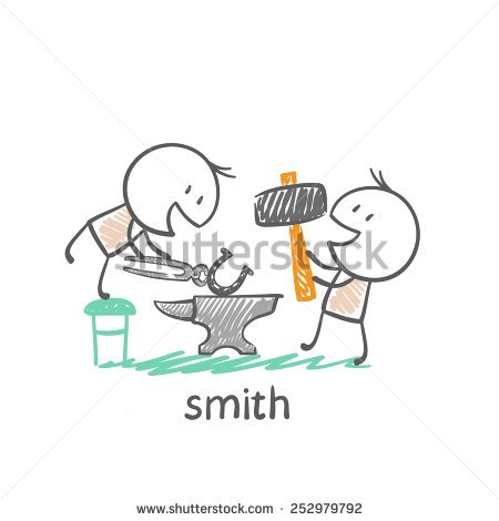 Smith To Forge Stock Vectors & Vector Clip Art.
