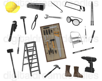 Anvil Clipart Tool Clip Art Antique Forge by DigitalDreamDoodles.