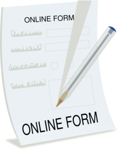 Form Clipart.