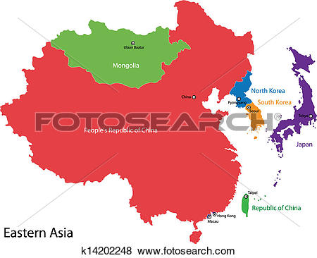 Asia map Clip Art Illustrations. 19,034 asia map clipart EPS.