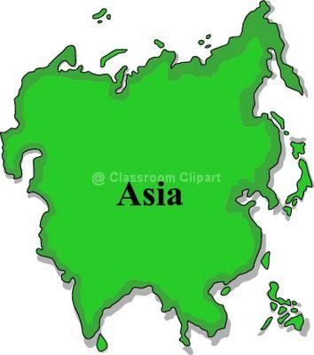 Asia Clipart.