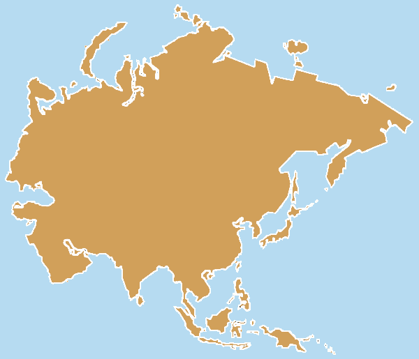Clipart asia map.