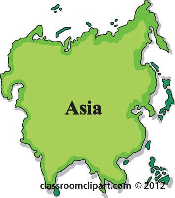 Asia Clipart.