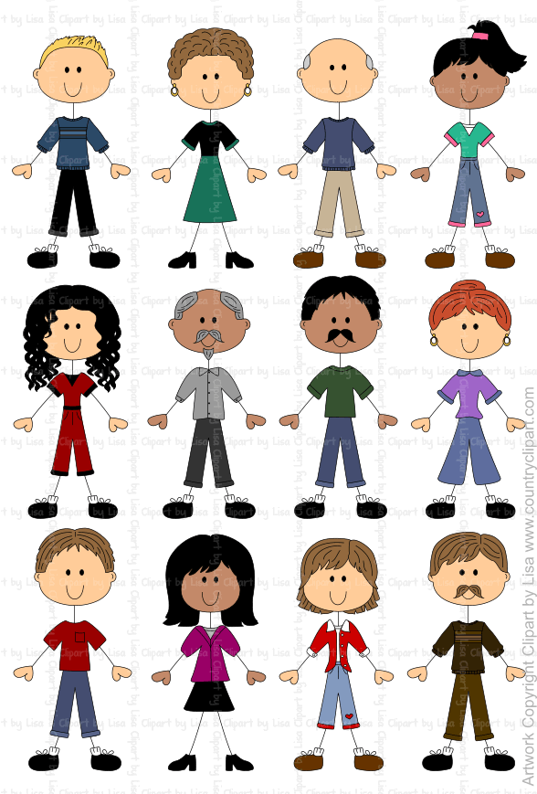 stick figure people graphics and clipart samples 11.