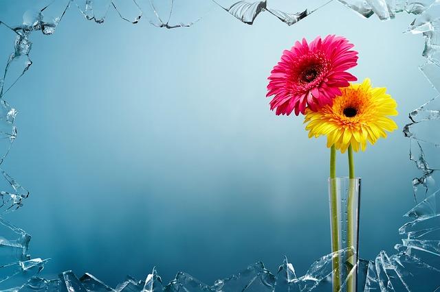 Free photo: Artwork, Colorful, Art, Flowers.