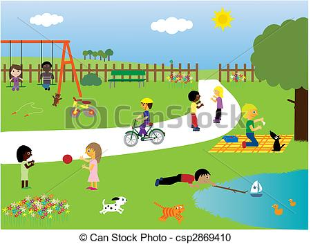 Park Illustrations and Stock Art. 88,283 Park illustration and.